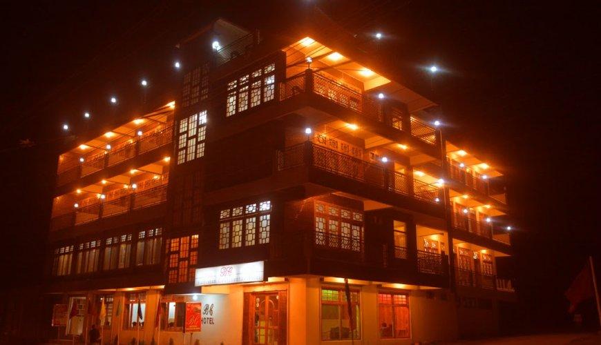 Baltistan Continental Hotel Skardu Front View