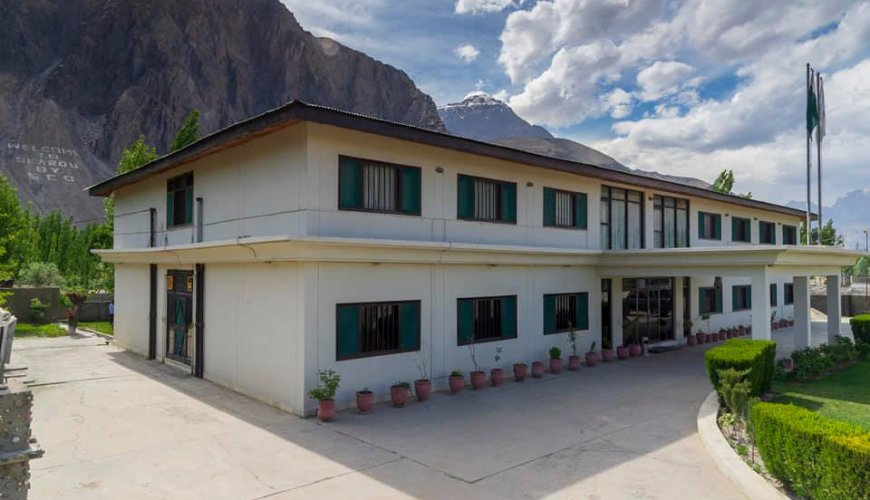 Hotel One Skardu Front View