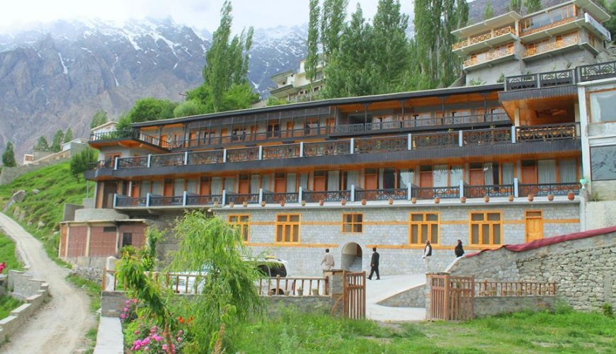 Hunza Embassy Hotel Full Front View