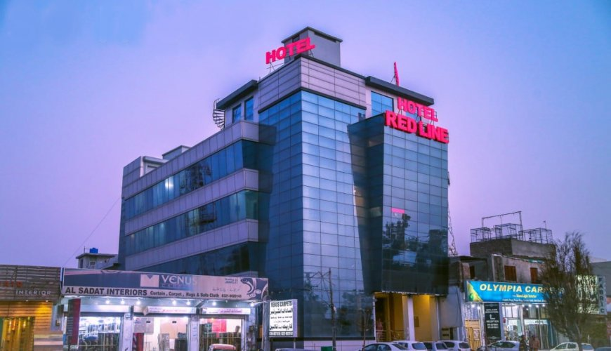 Hotel Red Line Islamabad Building Front View