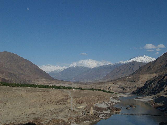 River-indus-near-chilas-Pakistan